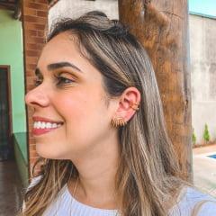 EAR CUFF MODERNO OURO